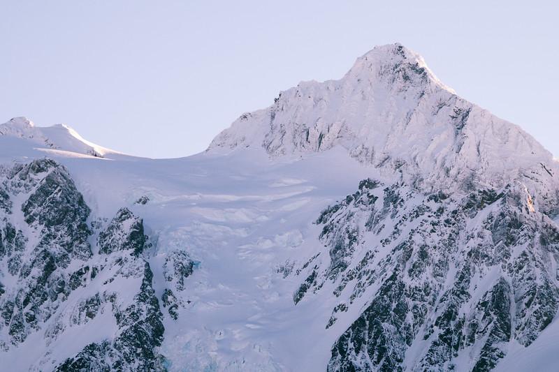 Whatcom, Baker Ski Area - Shuksan in a fresh coat of snow