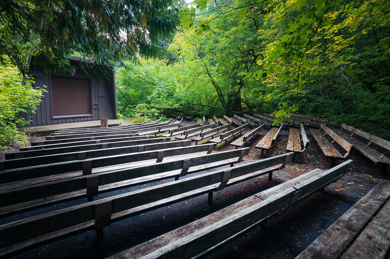 North Cascades, Thunder Creek - Amphitheater in the Colonial Creek Campground