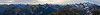 Whatcom, Winchester Mountain - Panorama of Silesia Creek, Shuksan, and many distant peaks