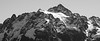 Whatcom, Yellow Aster Butte - Mt. Shuksan, black and white