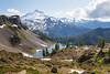 Whatcom, Artist Point - Mt. Baker above Iceberg Lake