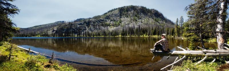 Methow, Tiffany - Panorama of Tiffany Lake