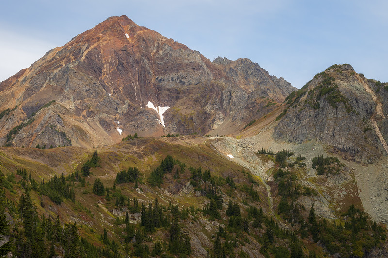 Whatcom, Winchester Mountain - Mt. Larrabee and High Pass area