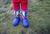 Skagit, Kukutali Preserve - Rainbow rain boots