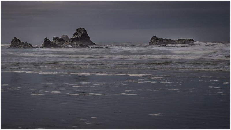 Rocks in the Ocean (Ruby Beach)