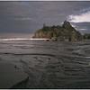Superimposed Sea Stacks (Ruby Beach)