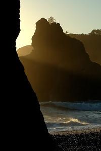 Olympic National Park Ruby Beach Sunset