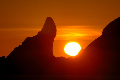 Sunset at La Push Olympic National Park