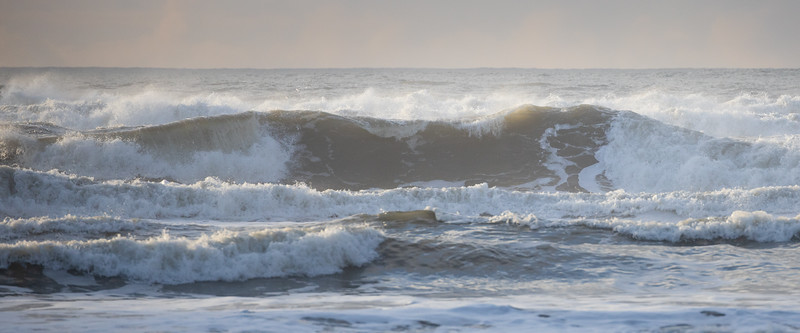 Kalaloch, Ruby Beach - Large wave crashing ashore