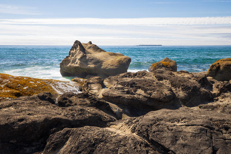 Kalaloch, Beach 4 - Water sculpted rock and the coastline