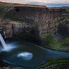 Palouse Waterfall at Sunset
