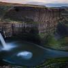 Palouse Waterfall at Sunset