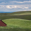 Barn and Hills