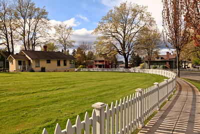 Port Gamble is a National Historic Landmark