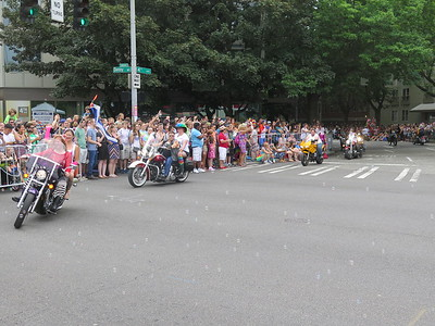 Seattle PrideFest Parade,  June 28, 2015