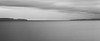 Edmonds, Marina Beach Park - Calm sea, long exposure, black and white