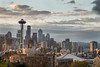 Seattle, Kerry Park - First light on the city from Kerry Park