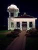 Mukilteo, Beach - Lighthouse at night in Christmas regalia