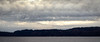 Mukilteo, Beach - Distant shore with stormy skies above (timestack)
