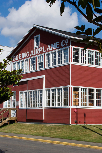 """It all started for Boeing in this """"barn."""""""