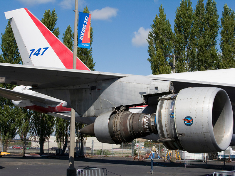 The 747 is synonymous with Boeing.