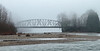 Monroe, Al Borlin - Bridge over the Skykomish River on a foggy day