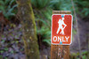 Snohomish, Lord Hill - Hiker only sign
