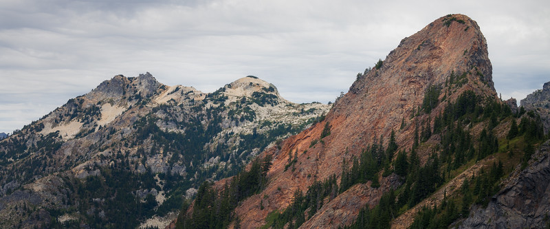 Snoqualmie Pass, PCT North - Red Mountain and Snoqualmie Mountain