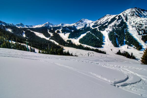 Blue Skies at Crystal Mountain