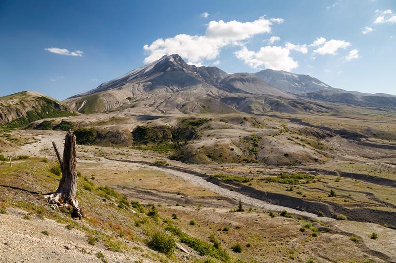 St. Helens, Plains of Abraham - Mt. St. Helens and eruption plains