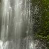 Halfway Down Marymere Falls