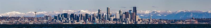 Seattle Winter Skyline