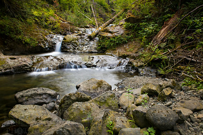 Gatton Creek Falls in the Lake Quinault area of Olympic National Park.   Photo by Kyle Spradley | © Kyle Spradley Photography | www.kspradleyphoto.com