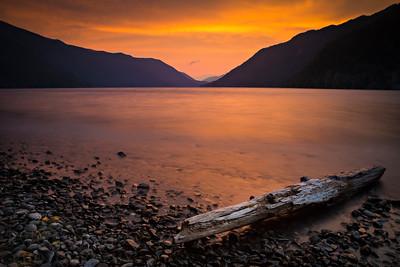 Lake Crescent Glow