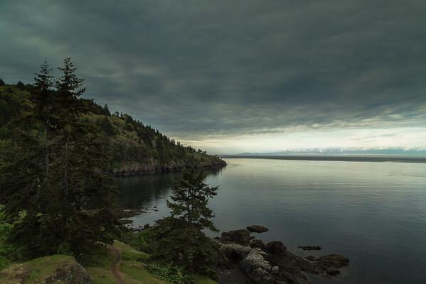 Morning Light on the Haro Strait