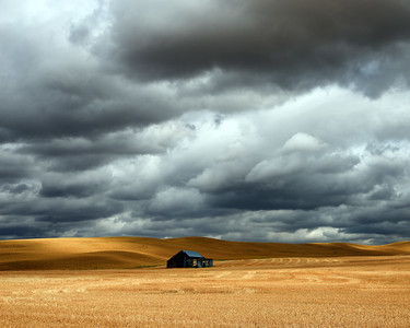 Storm Clouds and Shadows, Albion, WA