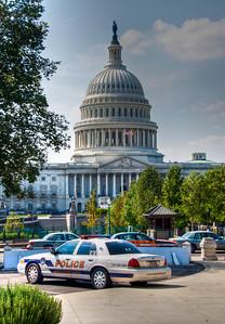 US-capital-police-car