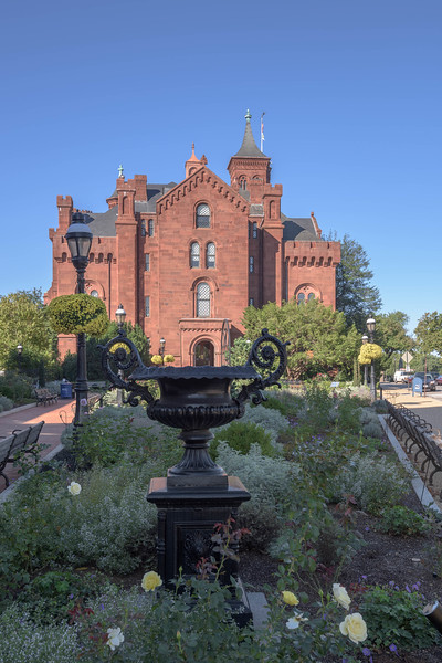 Garden and Smithsonian Castle