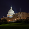 United States Capitol (at night time)
