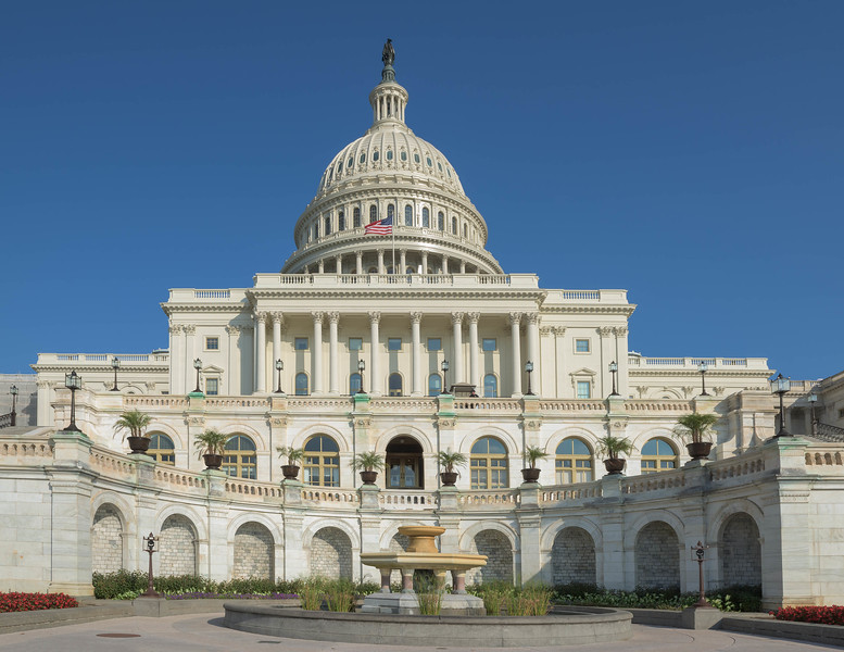 United States Capitol Frontal View