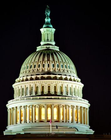 Washington, DC:  Monuments, Capitol, Memorials