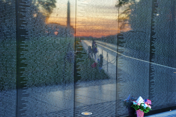 "Vietnam Veterans Memorial ""the Wall"""