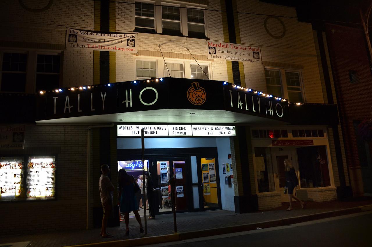 Talley Ho Theatre, Leesburg June 29, 2013.