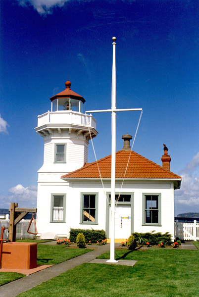 In 1996 the last Coast Guard families moved from the Keepers homes. The homes were refurbished and lead paint was removed. In 2001 the tower & dwellings were given to the city and made part of a city park. The light station was placed on the National Historic Register in 2008. It continues to be opened to lighthouse lovers for visitation as a great example of a wooden tower and it serves as a center for the community.  See mukilteohistorical.org for additional information on the lighthouse.