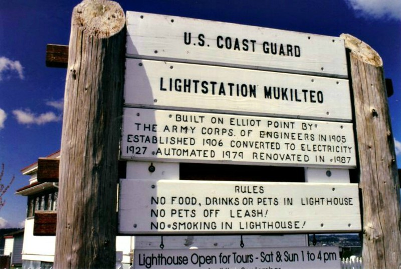 In addition to the light tower, which also housed fog signal equipment, the light station also consisted of two Keepers dwellings and a windmill which supplied the town's water. The cost of the station was $27,000.