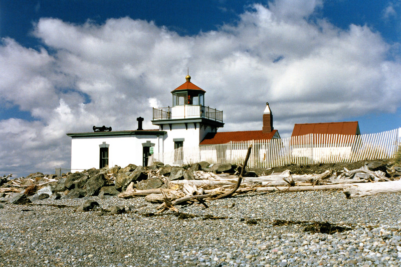 As early as 1872 the Lighthouse Board recommended that a navigational light be placed on West Point in response to the growing shipping traffic of Seattle.  In 1881 Congress appropriated $25,000 towards the project.  Six acres of land were purchased in July 1881 and construction of the lighthouse station began.