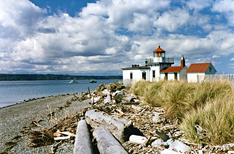 The light station was transferred under the National Historic Lighthouse Preservation Act of 2000 to the city of Seattle in 2004.  The grounds were incorporated into Discovery Park.  The Fresnel lens was replaced with a VRB-25 optic at this time.  Renovation work on the lighthouse was done in 2009 through 2010 to remove lead paint and restore the exterior of the buildings.  The grounds of the light station are open to the public during park hours.
