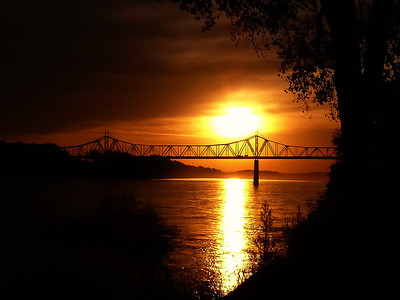 Sunrise at the Riverfront