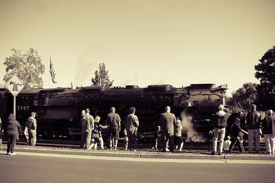 Union Pacific's Steam Locomotive No. 844 made a stop in Washington on June 2nd, 2011 and gathered a huge crowd!