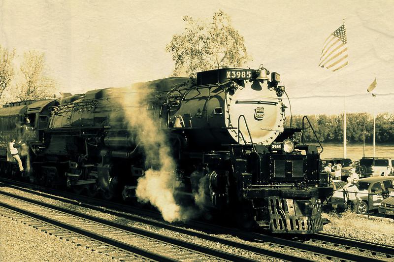 Steam Trains and Train Tracks - slavabowman